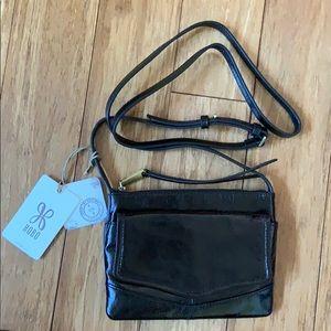 NEW HOBO Crossbody Black Leather Purse